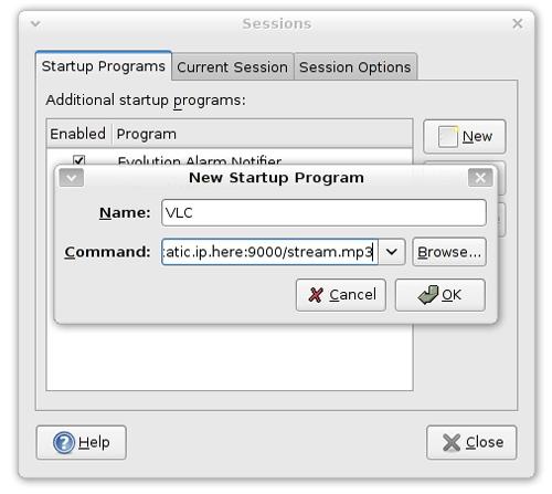 Auto Start VLC