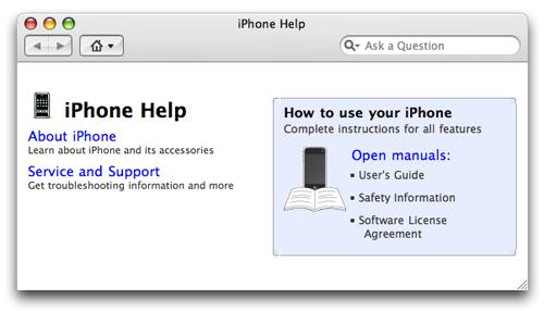 iPhone Help